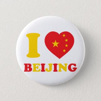 I Love Beijing Button