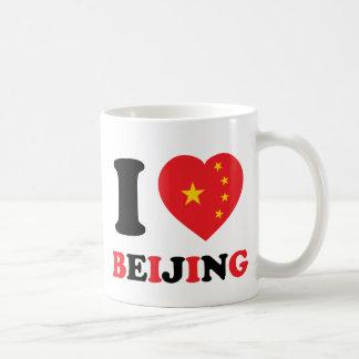 I Love Beijing Classic White Coffee Mug