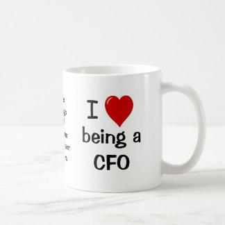 I Love Being a CFO - Funny CFO Quote Coffee Mug