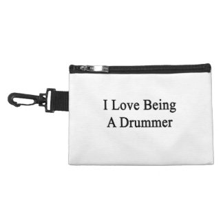 I Love Being A Drummer Accessory Bag