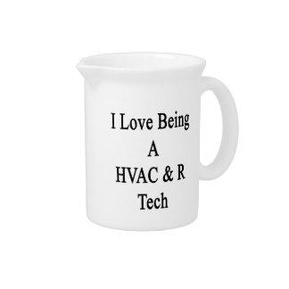 I Love Being A HVAC R Tech Pitchers