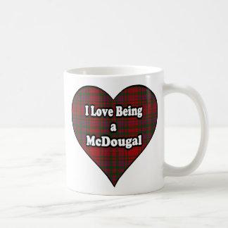 I Love Being a McDougal Clan Cup Mug