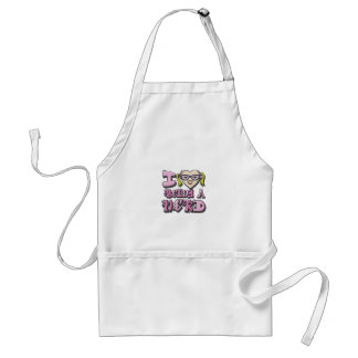 I Love Being A Nerd Version 2 Adult Apron