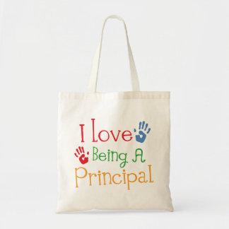 I Love Being A Principal Tote Bag