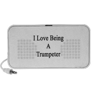 I Love Being A Trumpeter Mp3 Speakers