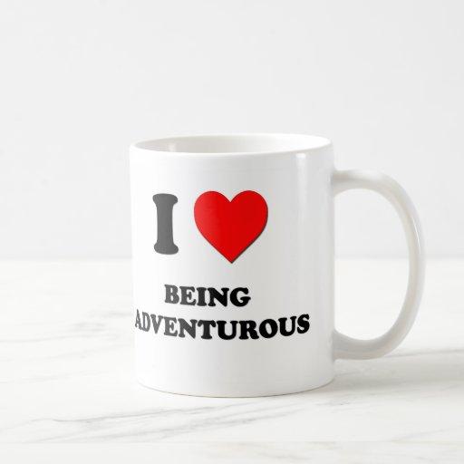 I Love Being Adventurous Classic White Coffee Mug