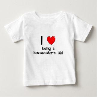 I love being an Newscaster's Kid T-Shirt