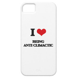 I love Being Anti-Climactic iPhone 5 Cover