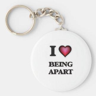 I Love Being Apart Keychain