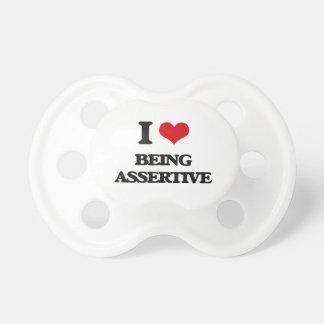 I Love Being Assertive BooginHead Pacifier