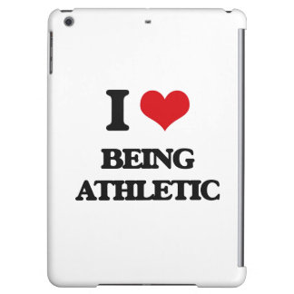 I Love Being Athletic iPad Air Cover