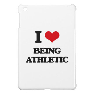 I Love Being Athletic iPad Mini Cover
