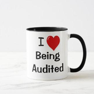 I Love Being Audited - Cheeky SuggestiveOffice Mug