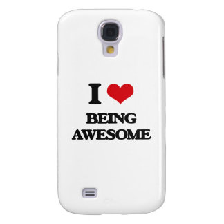 I love Being Awesome Samsung Galaxy S4 Cases
