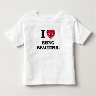 I Love Being Beautiful Tee Shirts