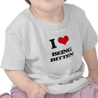 I Love Being Bitten T-shirt
