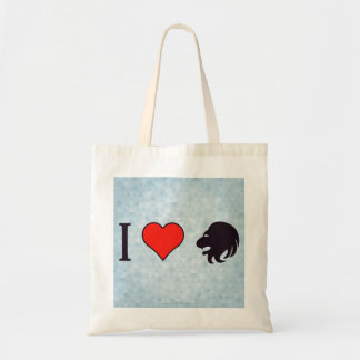 I Love Being Brave Tote Bag
