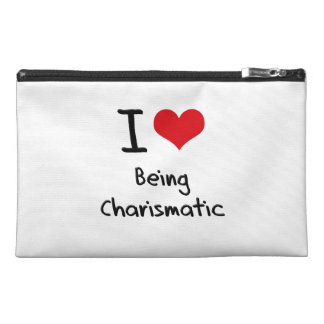 I love Being Charismatic Travel Accessories Bag