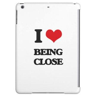 I love Being Close iPad Air Case