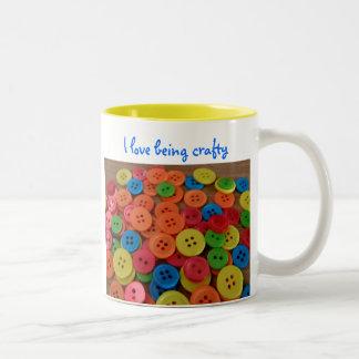 I love being crafty, Mug