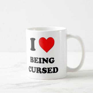 I love Being Cursed Coffee Mug