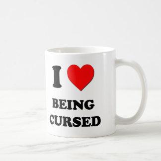 I love Being Cursed Coffee Mug
