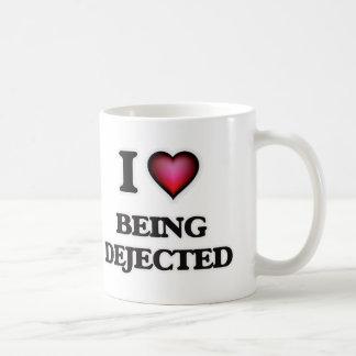 I Love Being Dejected Coffee Mug