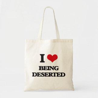 I Love Being Deserted Canvas Bag