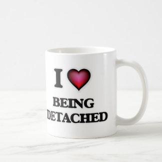 I Love Being Detached Coffee Mug