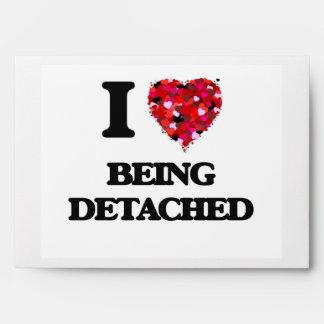 I Love Being Detached Envelope