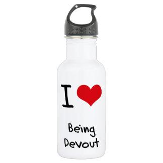 I Love Being Devout 18oz Water Bottle