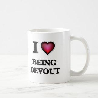 I Love Being Devout Coffee Mug