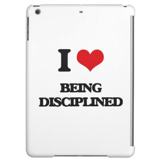 I Love Being Disciplined iPad Air Case