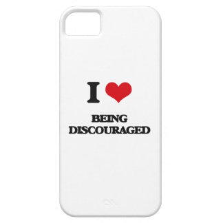 I Love Being Discouraged iPhone 5 Case