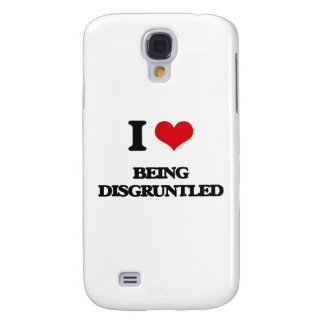 I Love Being Disgruntled Galaxy S4 Cases
