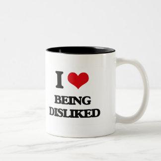 I Love Being Disliked Mugs
