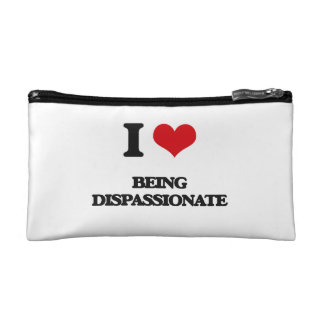 I Love Being Dispassionate Makeup Bag