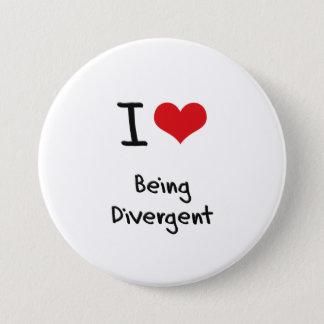 I Love Being Divergent Button