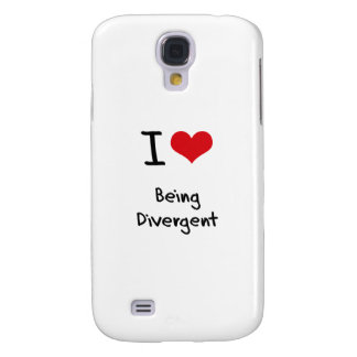I Love Being Divergent Samsung Galaxy S4 Covers