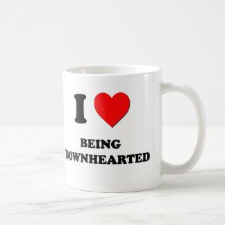 I Love Being Downhearted Mugs