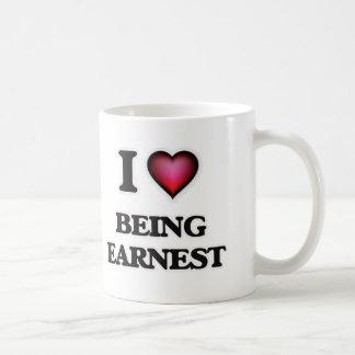 I love Being Earnest Coffee Mug