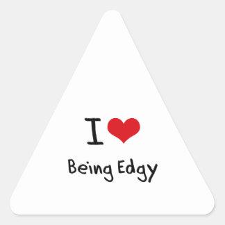 I love Being Edgy Sticker