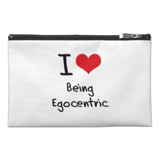 I love Being Egocentric Travel Accessories Bags