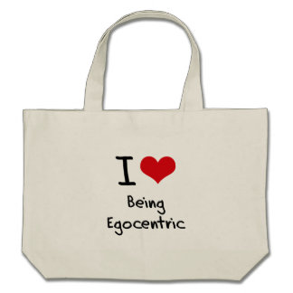 I love Being Egocentric Tote Bag
