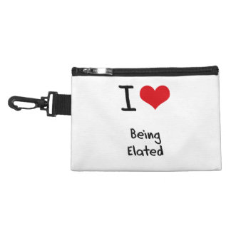 I love Being Elated Accessories Bags