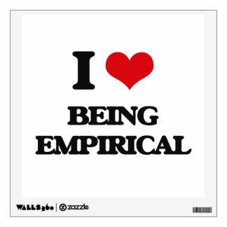 I love Being Empirical Wall Decor