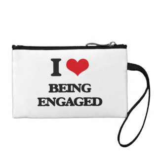 I love Being Engaged Coin Wallet