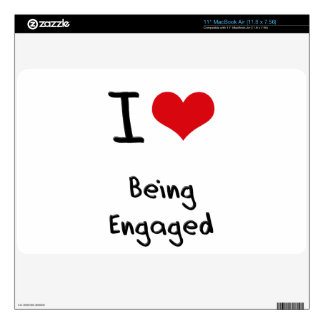 I love Being Engaged Decal For MacBook