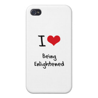 I love Being Enlightened iPhone 4 Cover