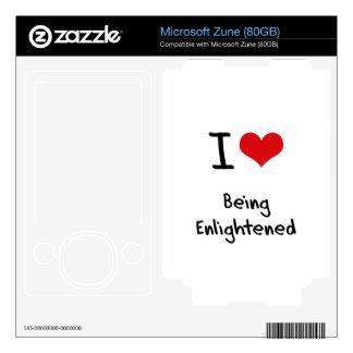 I love Being Enlightened Skin For Zune